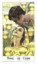 meaning of the Nine of Cups tarot card