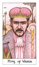 The King of Wands tarot card meaning