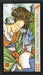 The Queen of Coins tarot card meaning