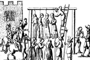 medieval punishment for witchcraft