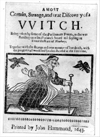 a seventeenth century witch trial Perhaps the most notorious witch trial of the 17th century, the legend of the pendle witches is one of the many dark tales of imprisonment and execution at lancaster castle.