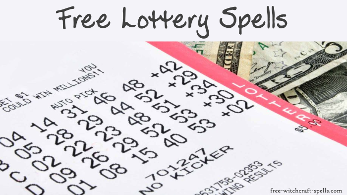 Free lottery spells
