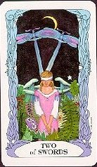 The Two of Swords tarot card meaning