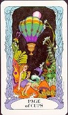 The Page of Cups tarot card meaning