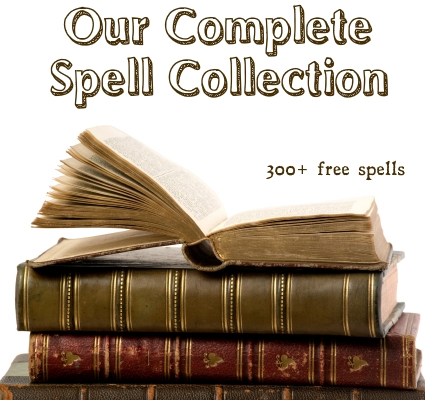 our complete online spell book of witchcraft rituals