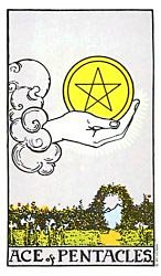 Ace of Coins Tarot card meaning