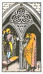 Three of Coins Tarot card meaning