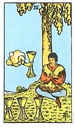 Four of Cups Tarot card meaning