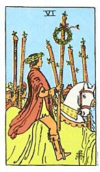 Six of Wands Tarot card meaning