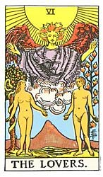Lovers tarot card meaning