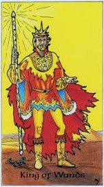meaning of the King of Wands  tarot card